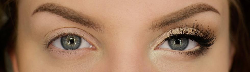 sminka stora ögon