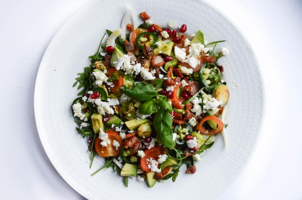 god grönsallad recept