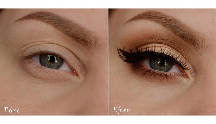 eyeliner hängande ögonlock
