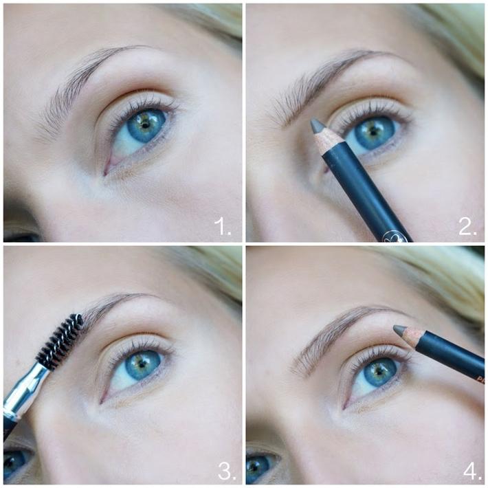fylligare ögonbryn ricinolja