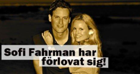 Sofi Fahrman har förlovat sig