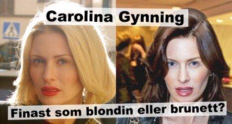 Gynning - finast som blondin eller brunett?