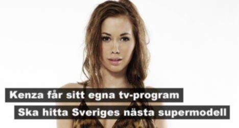 Kenza får eget tv-program - Ska hitta Sveriges nästa supermodell