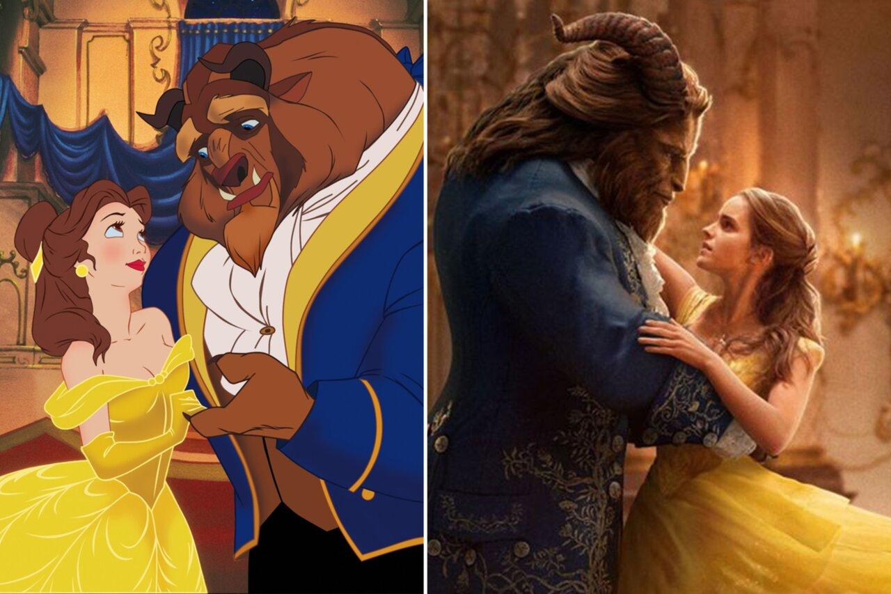 """Så skiljer sig spelfilmen från tecknade """"Skönheten och Odjuret"""""""