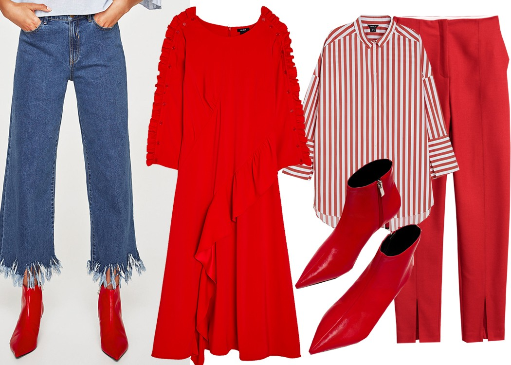 10 anledningar att bära trendfärgen rött i höst