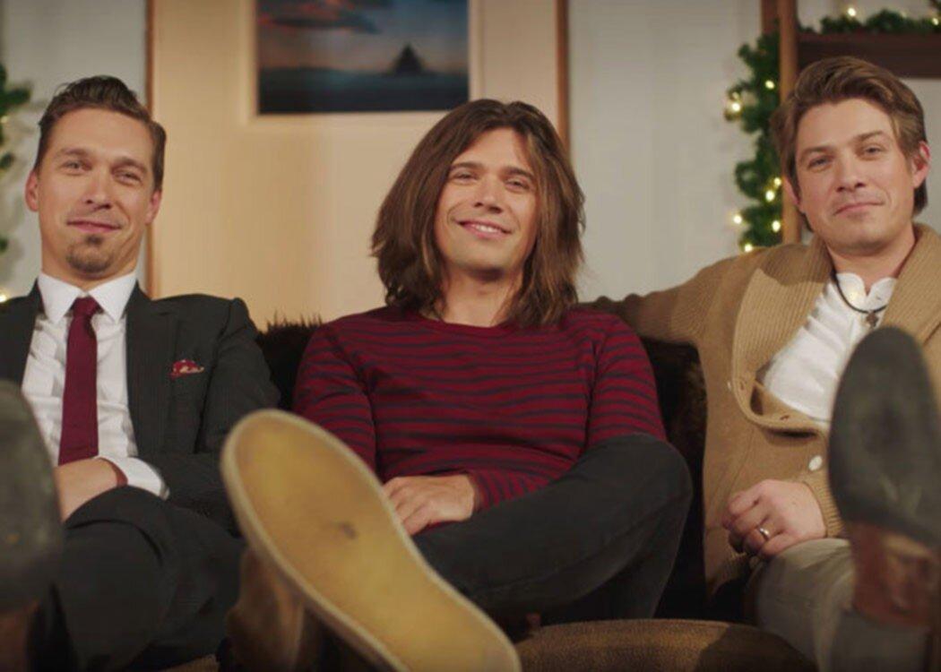 Bröderna Hanson är tillbaka med ny julskiva