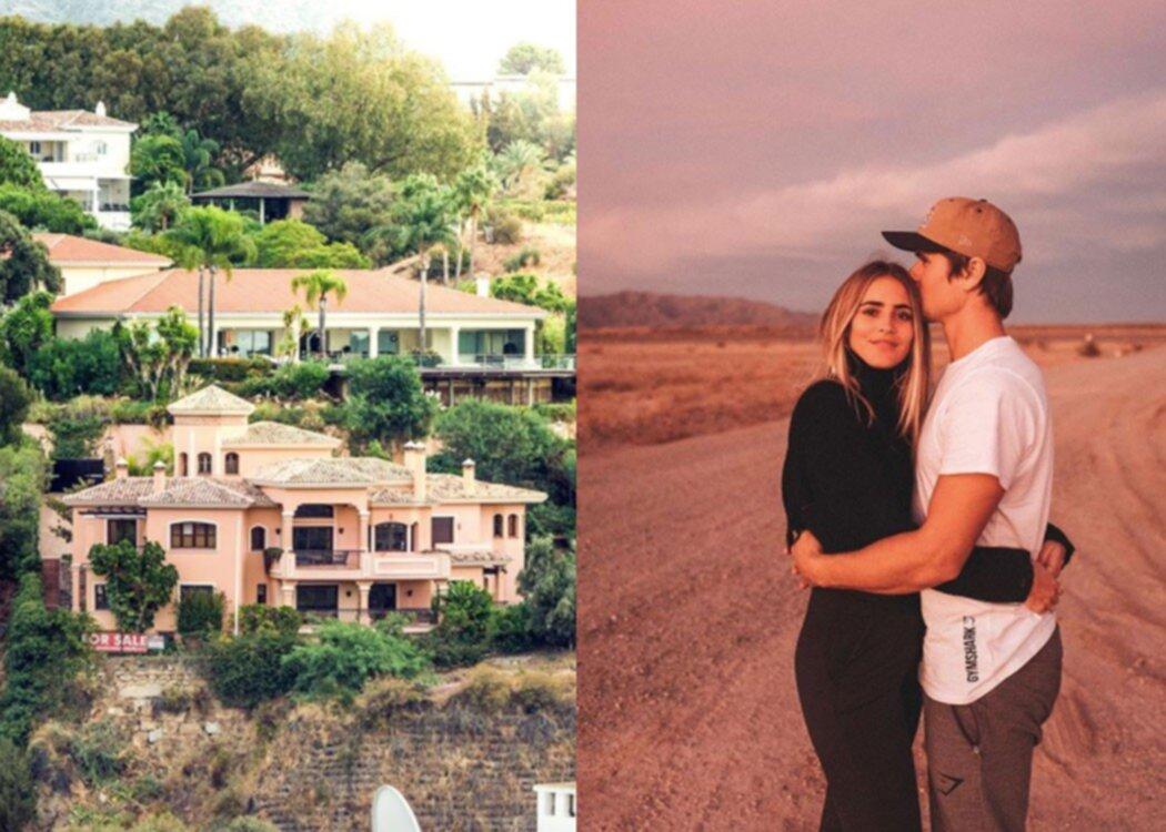 Här är Janni Delér och Jon Olssons nya lyxvilla i Marbella
