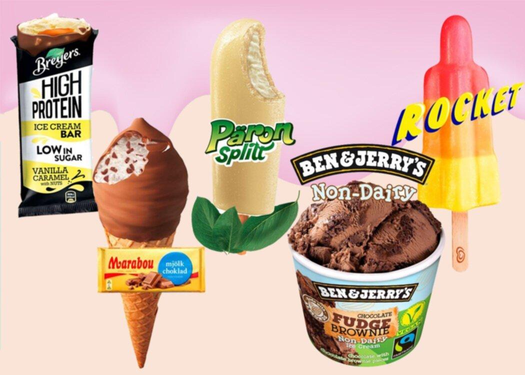 Nyhet: Årets nya glassar från GB - vi vill smaka alla nu!