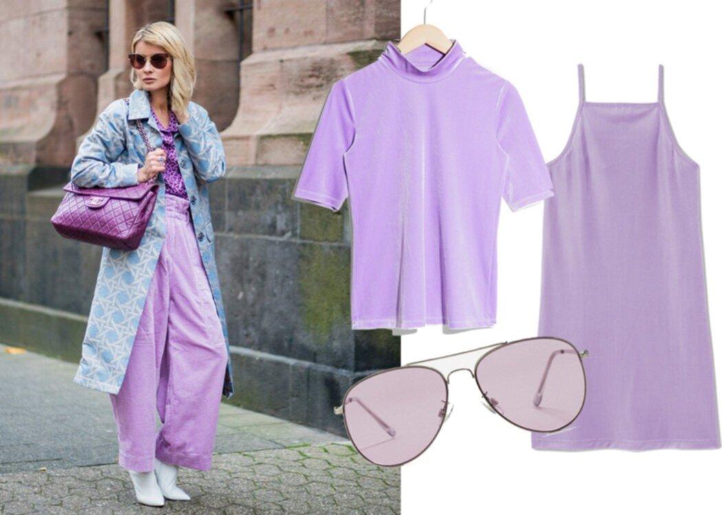 Vi listar 10 drömplagg i vårens it-färg violett