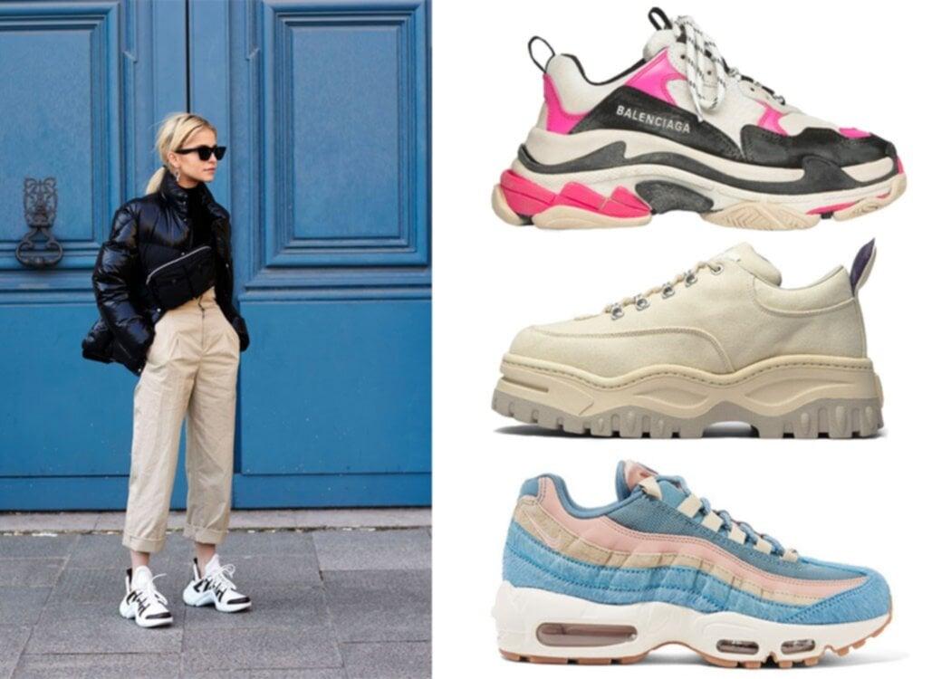 Chunky sneakers – 18 tips på vårens trendigaste sko