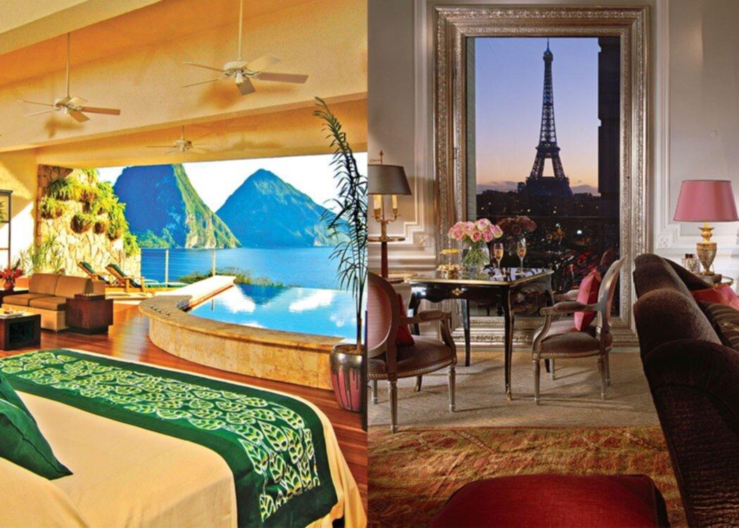 """Det här är de topp 10 mest """"instagram-vänliga"""" hotellen i världen"""