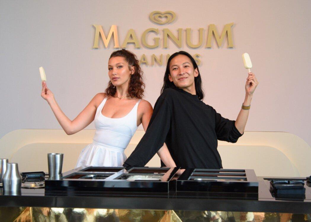 Magnum x Alexander Wang x Bella Hadid