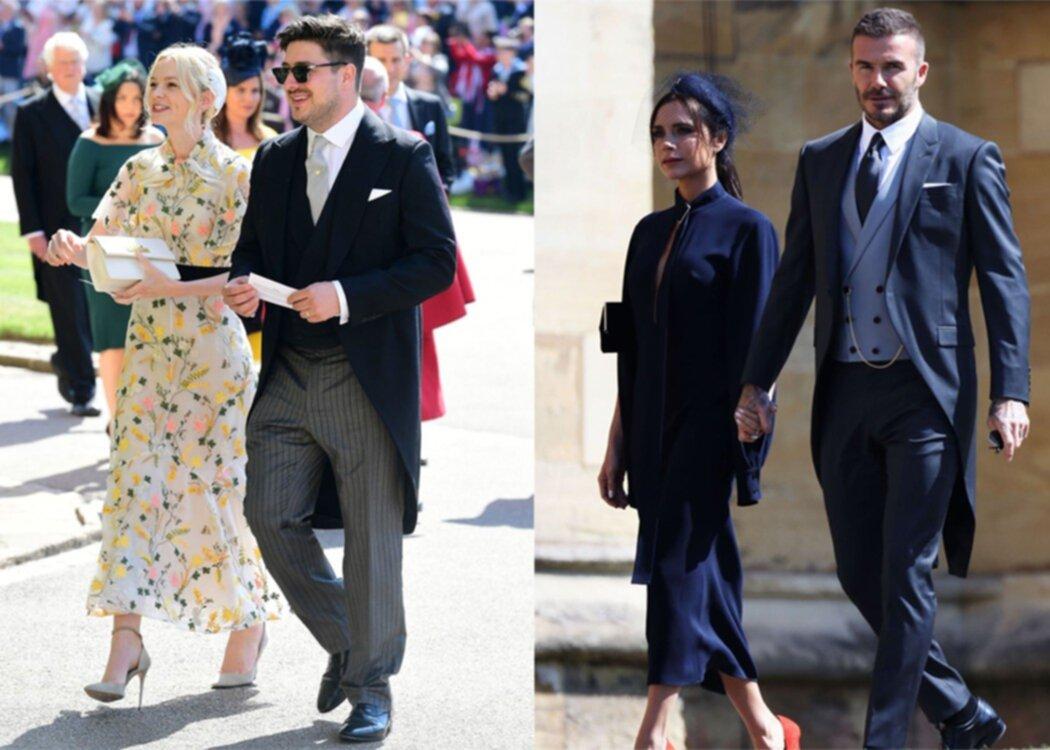 De bäst klädda kändisarna på prinsbröllopet