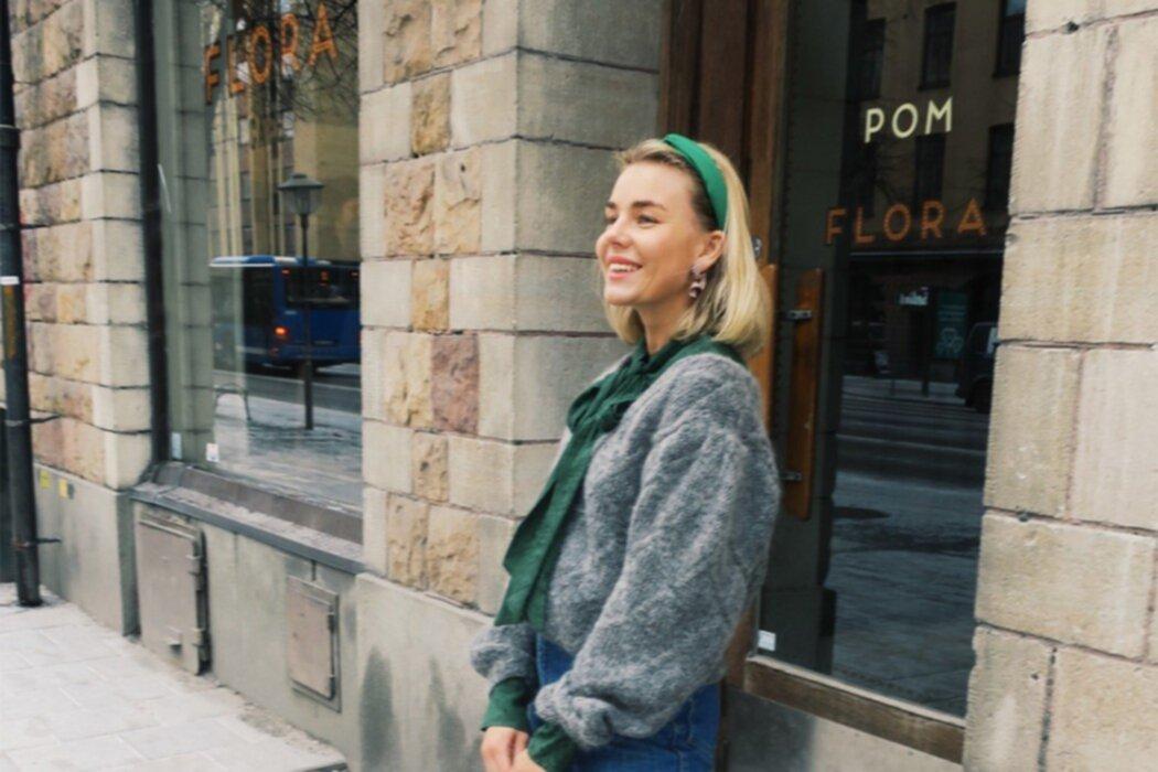 """Modemattan: """"At Pom och Flora"""""""