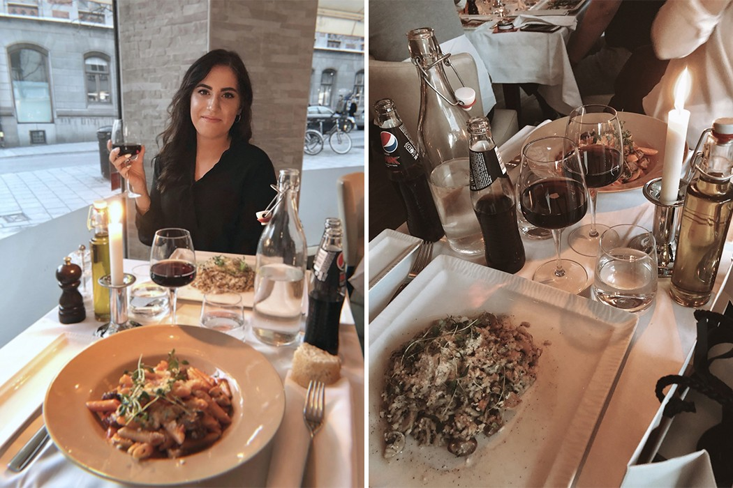 "Meltem: ""Birthday dinner at Villeggio Grill Italiano"""