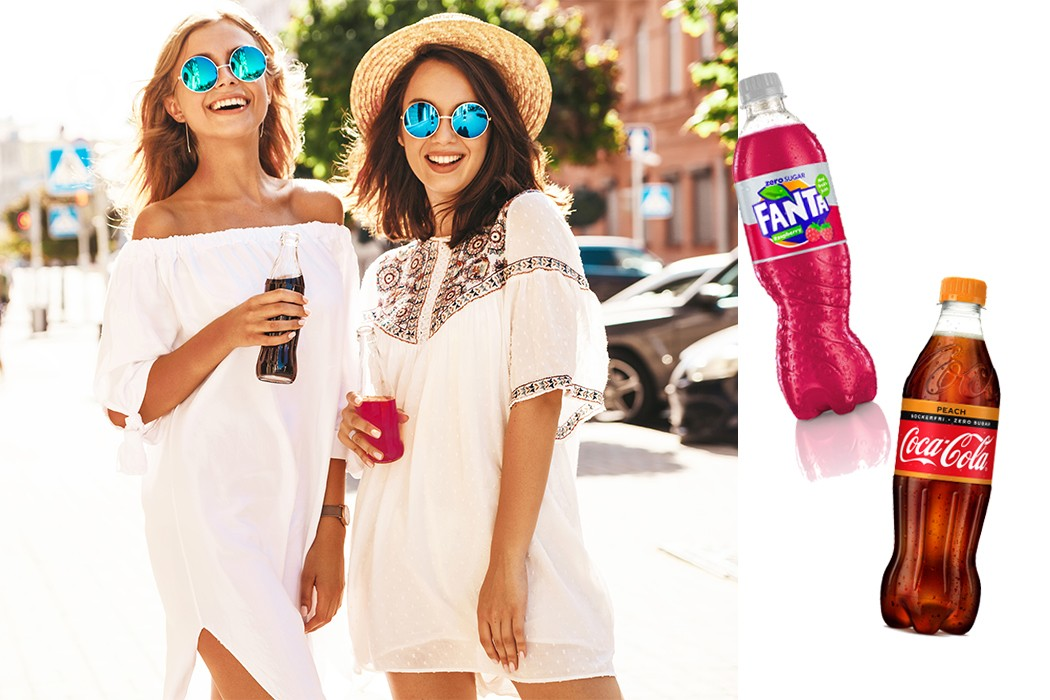 Coca-Cola Zero och Fanta Zero kommer i två nya smaker