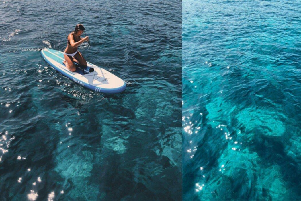 Emma Gustin: Maslinica Beach, godaste tonfisken och paddel board