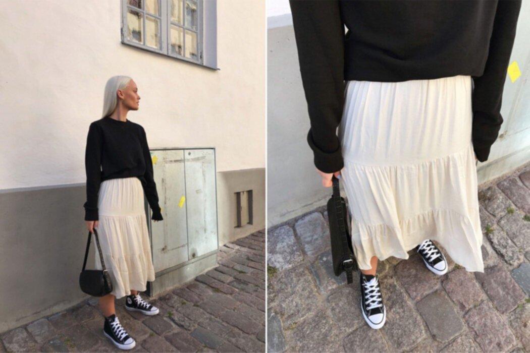 Rebecka Rosengren: Outfit - långkjol