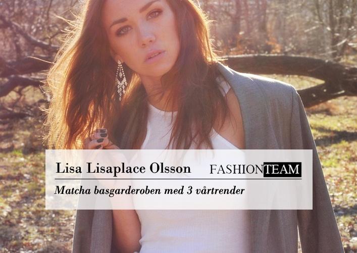 LISA: BASPLAGG + TRENDER