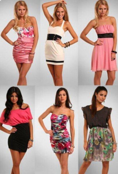 Klänningar från Nelly.com och dagens händelser    9fd110a66379d