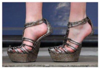 snygga skor utan klack