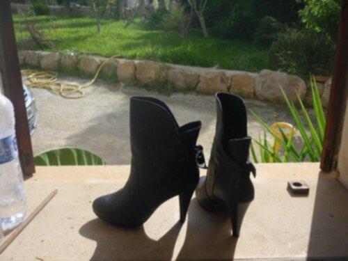 Au Pair i Spanien, väska och skor
