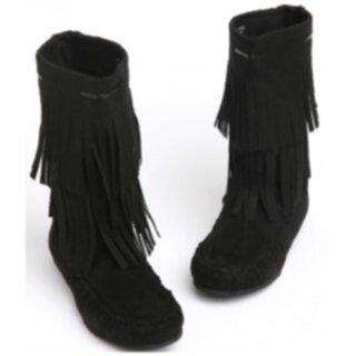 skor med fransar