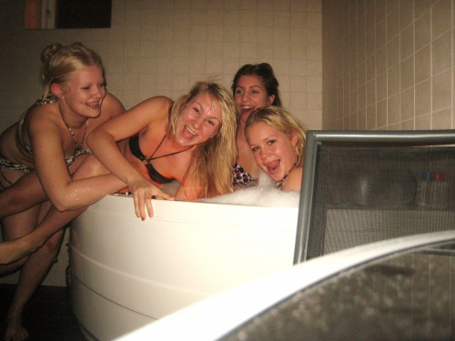 sex i bubbelpool