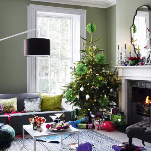 Inspiration jul for Living room xmas ideas