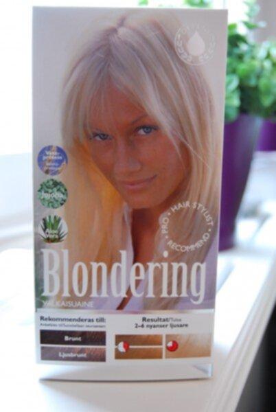 bästa blekningen för mörkt hår