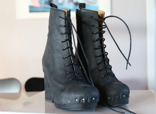 ACNE SHANK BOOTS
