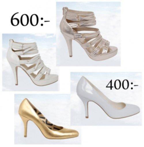 skor till balklänning