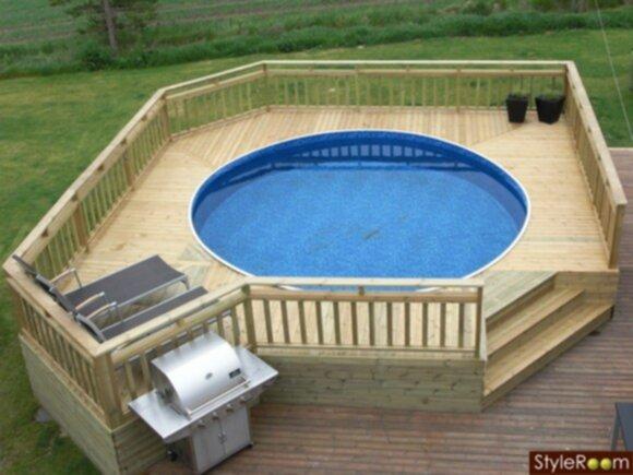 Pool planer for Pool billig