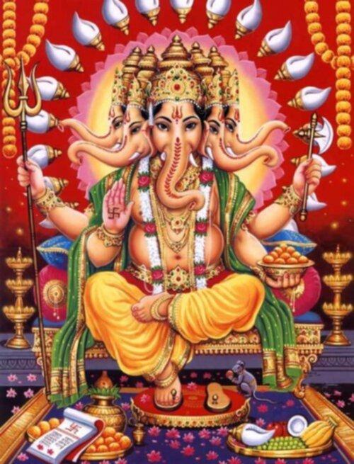 indiska gudar