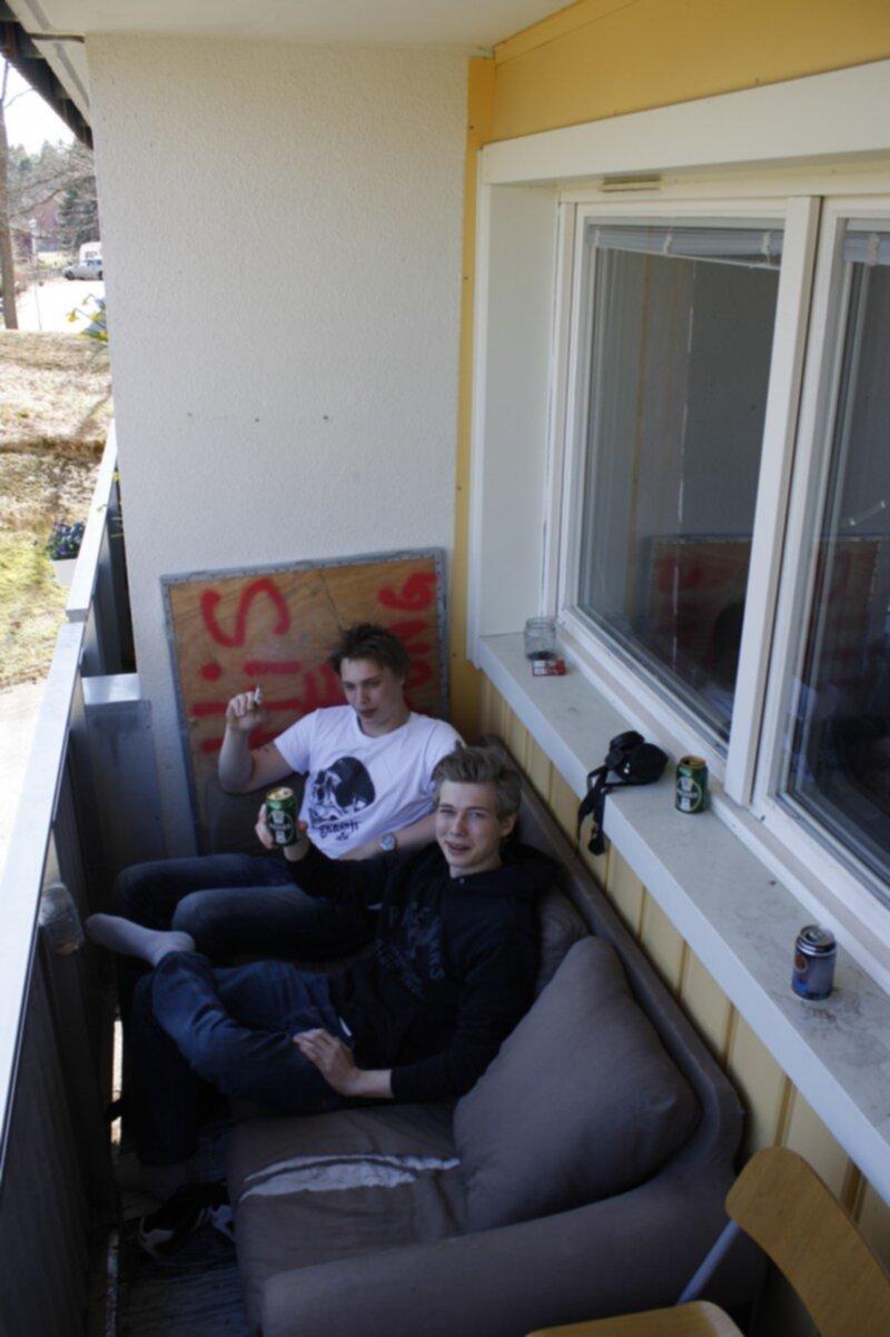 utemöbler soffa balkong