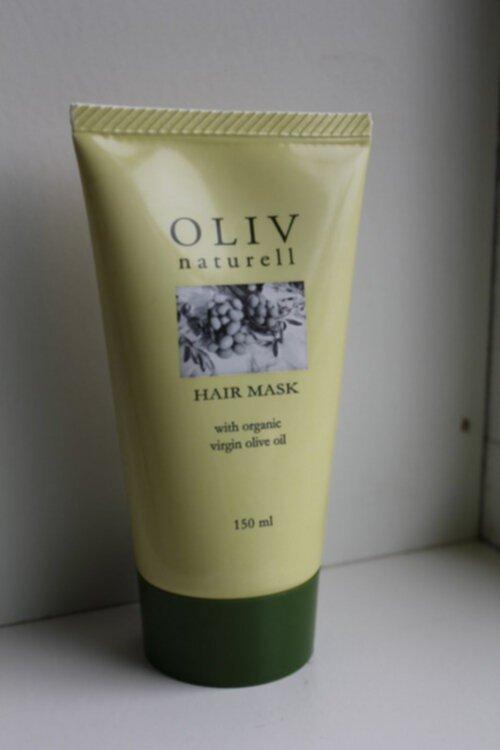 oliv naturell hårinpackning