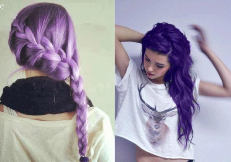 färga håret med silverschampo