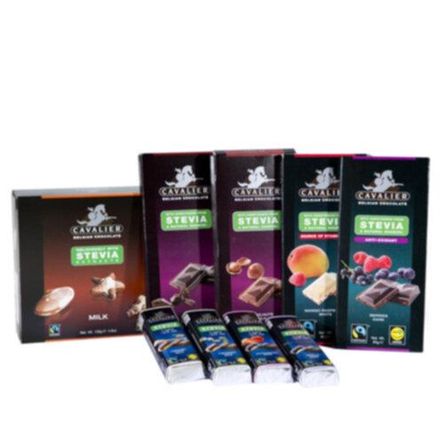 cavalier choklad stevia