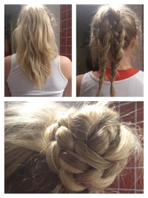 fina frisyrer steg för steg